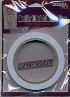 PaperCraft Double Sided Mounting Tape 12mm x 16m Roll ACID FREE
