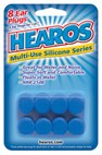 HEAROS Kids Silicone Ear Plugs for hearing protection & swimming - 8 pairs (child) or 4 pairs (adult) *CLEARANCE*
