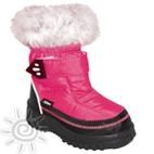 Kisa Kids Girls Winter Snow Boots (Candy Pink)