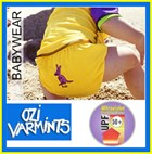Ozi Varmints Aqua Nappy / Swim Diaper for Babies & Toddlers