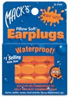 MACKS Kids Silicone Ear Plugs for hearing protection & swimming - 6 PAIRS (ages 6yrs & under)