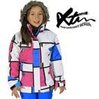 XTM Nisa Girls Winter Ski Snowboard Jacket (Blue/Candy) 4-12 **SALE**