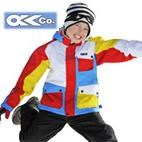 OKco Chopper Kids Ski Snowboard Jacket (multi colour) 4-8  **SALE**