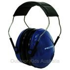 *FREE STORAGE TOTE** Peltor Junior Hearing Protection Ear Muffs for Babies & Kids - Blue (NRR 22dB)