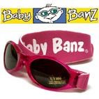 BABY Adventure Banz UV Sunglasses (PINK) 6m-2yrs