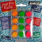Mabco Silicone Ear Plugs for Kids hearing protection & swimming - 6 pairs (ages 3+)