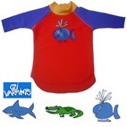 Ozi Varmints Kids Long Sleeve Rashie / Rash Shirt UPF50+ *CLEARANCE*