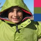 XTM Stash Kids Wind & Waterproof Jacket / Raincoat (Sizes 4-12) *SALE*