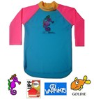 Ozi Varmints Kids Long Sleeve Rashie / Rash Shirt UPF50+