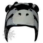 Zoolander Kids Lined Winter Beanie - Cow (3-10yrs)