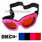 Top Gun Kids Ski Goggles by OKCo (suit ages 4-12 yrs)