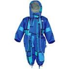 XTM Infant / Baby Papoose One Piece Snow Suit  (Blue Tonal) 0-1