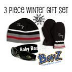 Baby Banz Winter Gift Set (6m-2yrs) Black