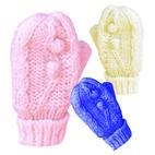 Fleece Lined Baby Puggle Mitts / Mittens (0-2yrs)