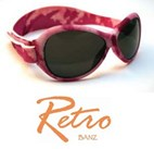 BABY Retro Banz UV Sunglasses (PINK) 6m-2yrs