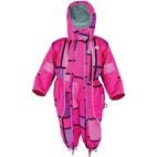 XTM Infant / Baby Papoose One Piece Snow Suit  (Pink Tonal) 0-1