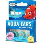 Aqua Ears Disney Nemo Kids Ear Plugs for hearing protection, swimming, bathing - 3 PAIRS