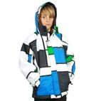 XTM Mondo Transit Kids Ski Jacket (Blue/Green) 4-12 **SALE**