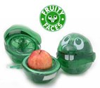 Fruity Faces - lunch box fruit protector (Green Fenne)