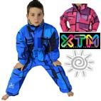 Kids Mondo One Piece Ski / Snow Suit by XTM (Tonal) 2-8