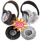 Sanitary Disposable Ear Muff / Headphone Covers (6 Pair)