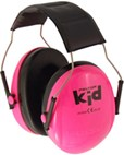 **FREE STORAGE TOTE** Peltor Kid Hearing Protection Ear Muffs for Babies & Kids - Hot Pink (NRR 22dB)