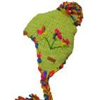 Lily Peru Lined Winter Ski Beanie - Citron (Teen/Adult)