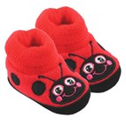 Baby Booties / Slipper Socks by Western Chief Kids (Ladybug)