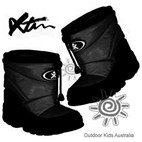 XTM Puddles Baby & Kids Winter Snow Boots (Black)