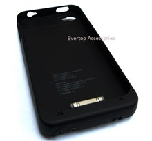 iPhone 4 Extended Life Battery Pack with USB Cable / Li-Polymer 1800mAh Extended Capacity / iPhone 4 /4s
