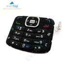 Original Nokia N70 Music Edition Replacement Keypad Buttons - Black
