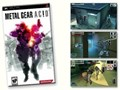 Metal Gear Acid PSP Game Including Limited Edition Card Book Used