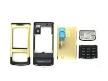 6500 Slide Housing Fascia Set with Black Keypad Buttons - Gold