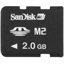 SanDisk Memory Stick Micro(M2) with Adapter 2GB / Original