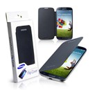 Original Samsung Galaxy S4 i9500 Flip Cover Case in Nova Black EF-FI950BBEGWW