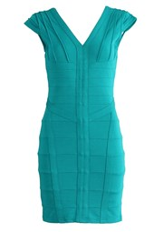 Bodycon Bandage Dress Turquoise