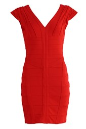 Bodycon Bandage Dress Red