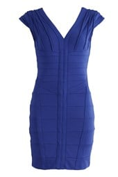 Bodycon Bandage Dress Blue