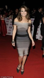 Herve Leger in the style of Rachel Stevens