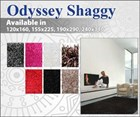Odyssy Shaggy Rug Collection