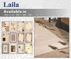 Laila Wool Blend Floor Rug Collection