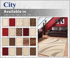 City Modern Floor Rug Collection