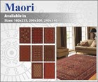 Maori Wool Floor Rug Collection
