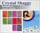 Crystal Shaggy Rug Collection