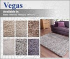 Vegas Shaggy Rugs - Wool & Viscose
