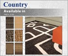 Country Floor Rug Collection