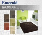 Emerald - Plush Shag Rug Collection