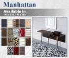 Manhattan Wool Rug Collection