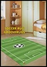 *NEW* SOCCER FLOOR RUG 100x150cm 'WASHABLE'