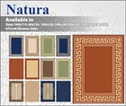 Natura Collection - Budget Flatweave Floor Rugs